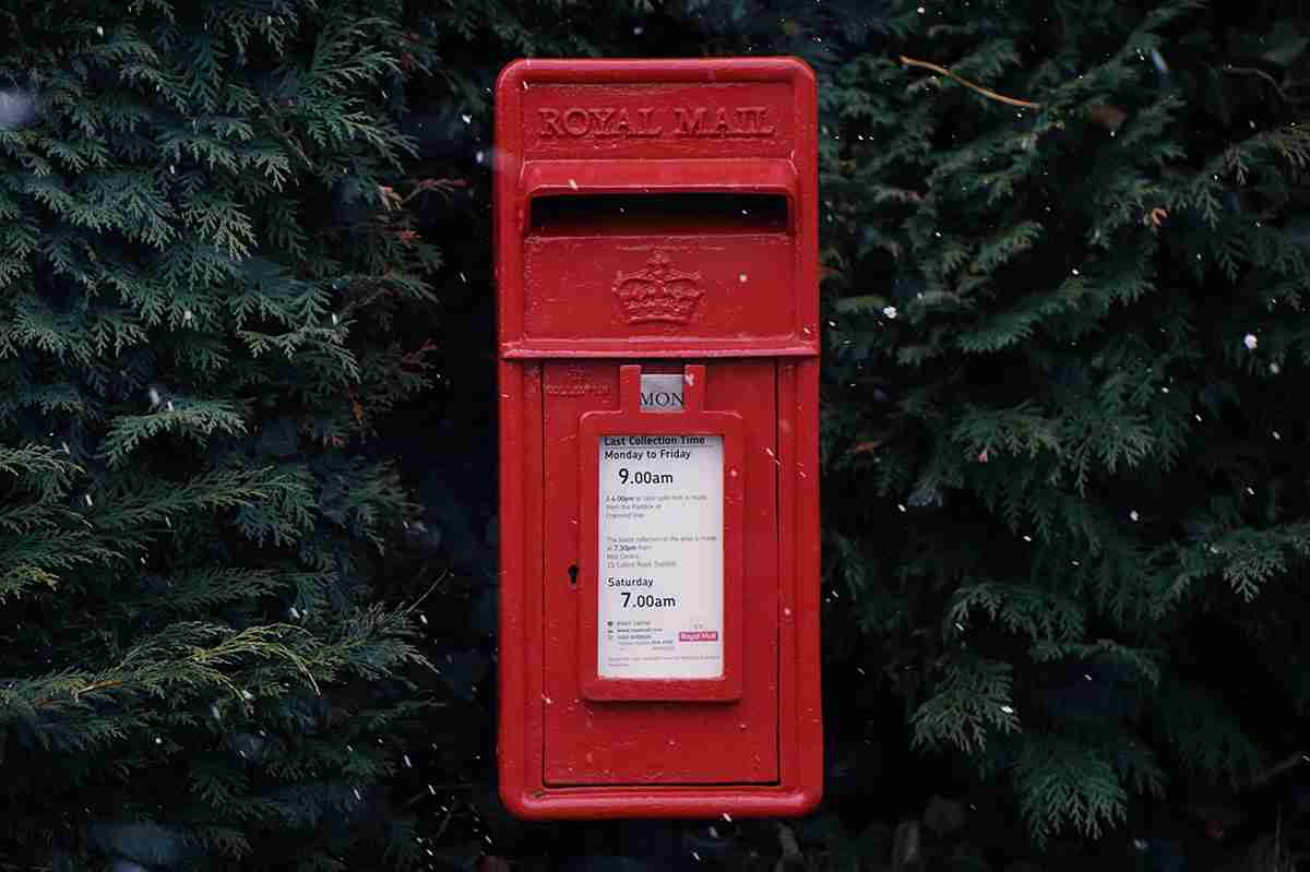 Postbox in Winter